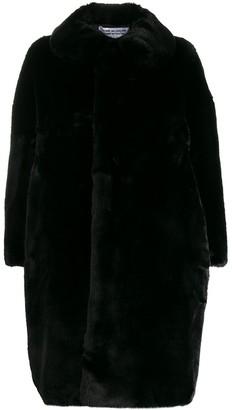 Comme des Garçons Comme des Garçons Oversized Faux-Fur Coat