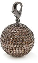 "Jewels by Jen ""Disco Ball"" 10.22ctw CZ Pave Charm"