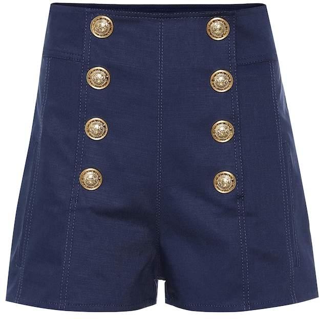 51e500e07b Balmain Women's Shorts - ShopStyle