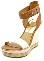 Dolce Vita Heath Women Open Toe Leather Wedge Sandal.