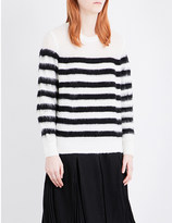 Izzue Striped knitted jumper