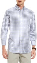 Daniel Cremieux Graph Check Lightweight Washed Oxford Long-Sleeve Woven Shirt