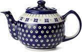 Polish Pottery Daisy Large Teapot