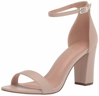 Madden-Girl Womens Beella Open Toe Ankle Strap Classic Pumps