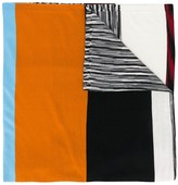 Missoni Striped Block Color Scarf