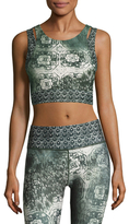 Nanette Lepore Monsoon Cut-Out Crop Top