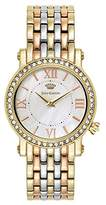 Juicy Couture Women's 'LA Luxe' Quartz Gold-Tone and Stainless Steel Casual Watch, Multi Color (Model: 1901430)