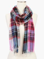 Talbots Plaid Scarf