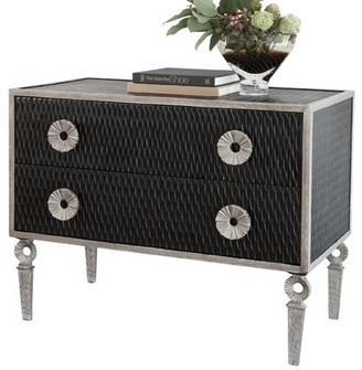 Global Views Artisan 2 Drawer Accent Chest
