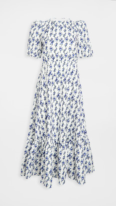 Sister Jane Wisteria Tie Back Midi Dress