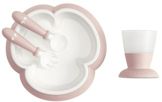 BABYBJÖRN Feeding Set Powder Pink