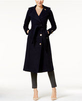MICHAEL Michael Kors Asymmetrical Maxi Trench Coat
