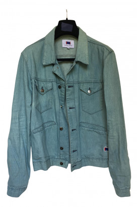Maison Labiche Blue Cotton Jackets