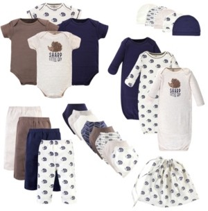 Touched by Nature Baby Organic Layette Set, 25 Piece Set