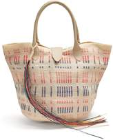 SOPHIE ANDERSON Keiko woven-toquilla tote