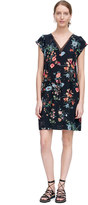 Rebecca Taylor Meadow Floral V-Neck Dress