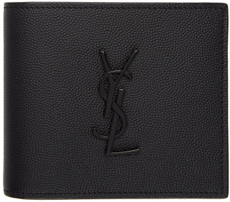 Saint Laurent Black Monogramme East/West Wallet