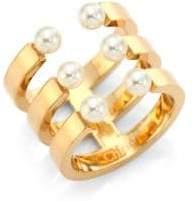 Chloé Darcey Swarovski Pearl Ring