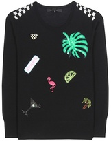 Marc Jacobs Embellished wool sweater