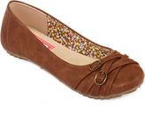POP Nelly Buckle Accent Ballet Flats