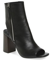 Topshop Women's 'Home' Peep Toe Boot