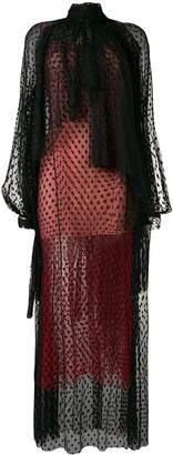Christopher Kane dot tulle gathered dress