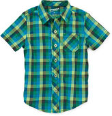 Arizona Short-Sleeve Plaid Shirt - Boys 2t-5t