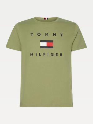 Tommy Hilfiger Big & Tall Flag Print Organic Cotton T-Shirt