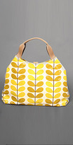 Yellow Printed Casual Bags by Orla Kiely