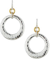 Gurhan Hoopla Large Tapered Ring Drop Earrings