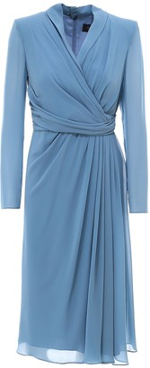 Max Mara Draped Dress