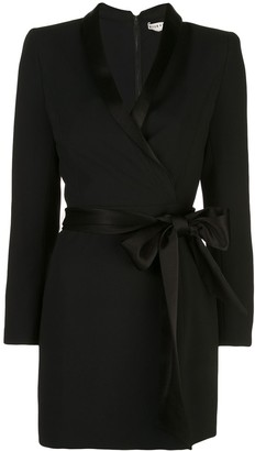Alice + Olivia Alice+Olivia Mona wrap mini dress