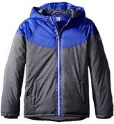 Armani Junior Hooded Puffer Coat Boy's Coat