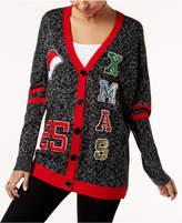 Hooked Up by IOT Juniors' Varsity Holiday Cardigan
