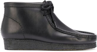 Clarks Wallabee lace-up desert boots