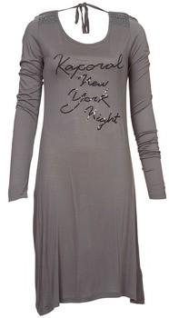 Kaporal TALET women's Dress in Grey