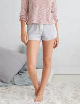 aerie Heathered Fleece Short