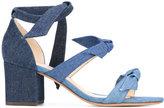 Alexandre Birman tied strappy sandals - women - Leather - 36.5