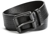 GUESS Embossed Leather Belt