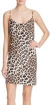 Bardot Miley Leopard Print Slip Dress