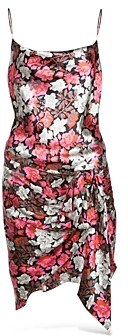 Cinq à Sept Whitney Floral Print Slip Dress