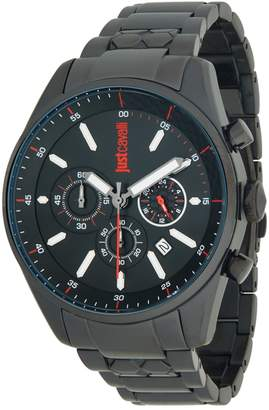 Just Cavalli Energia Stainless Steel Chronograph Watch