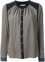 GUILD PRIME contrast shoulder shirt