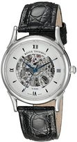 Revue Thommen Men's 12001-2532 Skeleton 80 Analog Display Swiss Automatic Black Watch