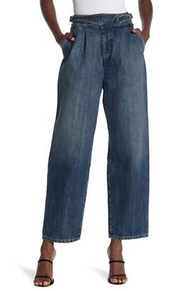 Nili Lotan Zora High Waist Wide Leg Jeans