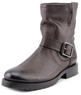 Frye Natalie Short Engineer Women Round Toe Leather Ankle Boot.