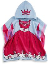 Bed Bath & Beyond Kids Printed Princess Hooded Beach Towel in Pink/Blue