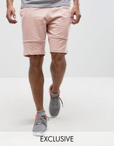 Brooklyn Supply Co. Brooklyn Supply Co Jersey Shorts With Seam Detail