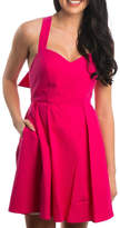 Lauren James Solid Seersucker Dress