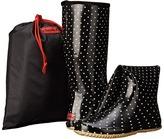 Chooka Classic Dot Packable Rain Boot